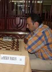 International Master Majran Mitkov, FIDE raiting 2314