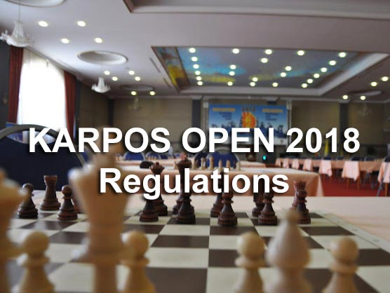 Karpos Open 2018 Regulations