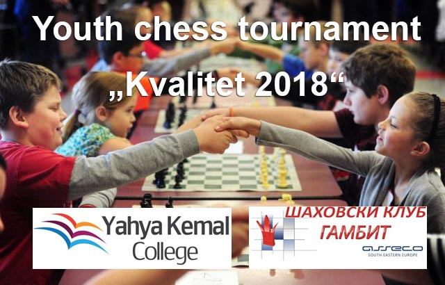 "Youth chess tournament ""Kvalitet 2018"""